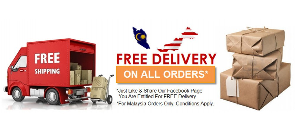 Free Delivery within Malaysia