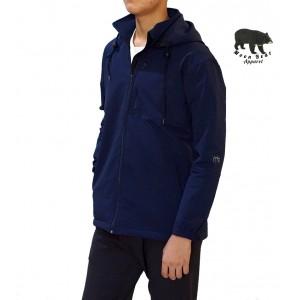 Moonbear Hooded Softshell Jacket - Navy Blue
